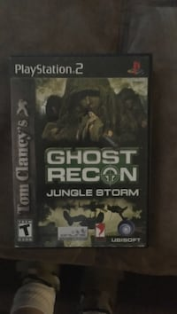 Ghost Recon: Jungle Storm Ps2 game w/ disc Pembroke Pines, 33024