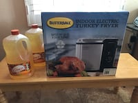 Butterball Turkey Fryer, unopened box and includes two gallons of peanut oil. Odenton, 21113