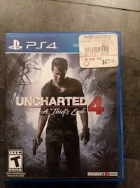 Uncharted 4 ps4 game  El Paso, 79924