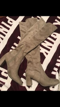 Liz Claiborne suede knee high boots NEW   Metairie, 70003