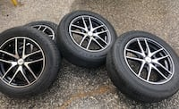 Rims/wheel/tire/chrome/sports/cars/rim/black/silver/Dat wheel