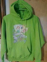 green and white zip-up hoodie 1808 mi