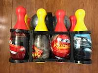 Brand new Disney Pixar Cars 12 Piece Toy Bowling Set (pick up only) Alexandria, 22310