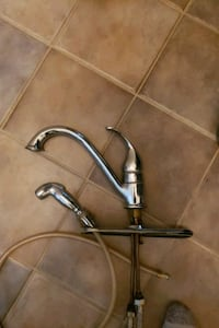 Faucet with Sprayer  Newmarket