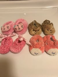 0-3 month new slippers  Salinas, 93905