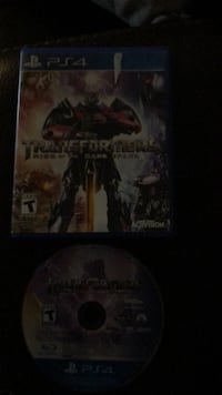 Transformers PS4 game Annville, 17003