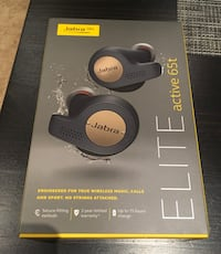 Jabra elite active 65t earphones/headphones