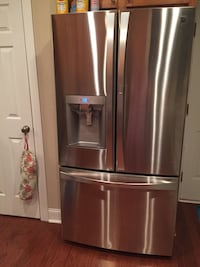 Stainless steel french door refrigerator Lillington, 27546
