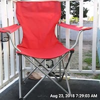 red and white camping chair Las Vegas, 89122