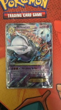 Pokemon mewtwo trading card Sterling, 20165