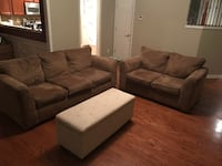 PRICE LOWERED: EXCELLENT CONDITION: Couch & Love SeatFor Sale ATLANTA