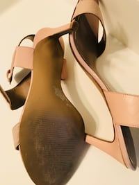 Nine West sandals nude Size 11 as shown Used  Frederick, 21704
