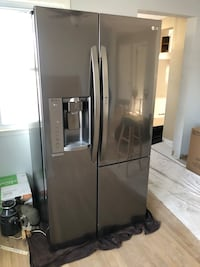 LG Black Stainless Steel Refrigerator Wall Township, 07719
