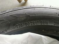 2 tires 225/50zr17 Spruce Grove, T7X 0N4
