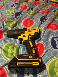 black and yellow DEWALT cordless power drill Laurel, 20724