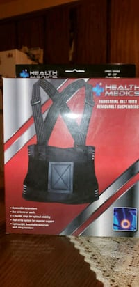 Health medics belt with removable suspenders Toronto, M6E 3S4