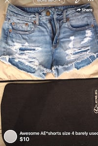 Awesome AE*shorts size 4 barely used London, N5W 6E3