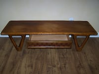 Vintage Mid Century LANE Coffee Table and Matching End Tables MURRIETA