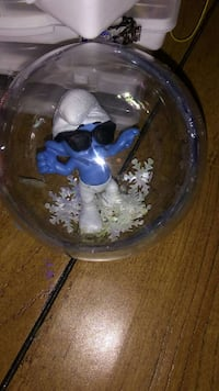 Smurf ornament