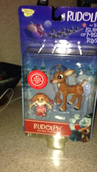 Island of misfit toys. Rudolph. Year 2000. Never opened. Port Jefferson Station, 11776