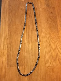 Men's stainless steal Fossil necklace 19' Chester, 23831