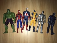 Marvel Action Figures set Mc Lean, 22102