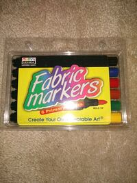 Fabric Markers 6pack Papillion, 68046