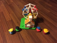 Fisher Price Musical Ferris Wheel with People Ajax, L1T 1V1