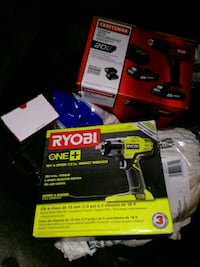 yellow and black DEWALT cordless drill with box Germantown, 20874