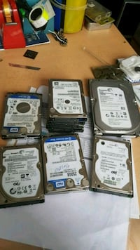 250gb 500  1tb  2.5 inç ve 3.5 inc hdd Ankara, 06460