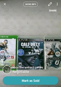 Xbox one and ps3 games Mission, 78574