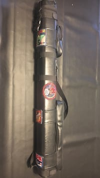 Pool players 2 cue protective bag- billiards carry case