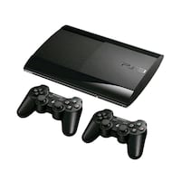 Sony PlayStation 3 500gb süper slim 32 oyun 2 kol