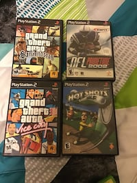 Xbox,PlayStation 2 and Wii games Chillicothe, 45601