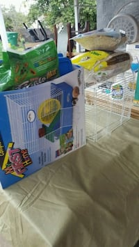 Hamster cage with beding and food  La Habra, 90631