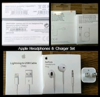 Apple Headphones & Charger Set (Originals)  Arlington
