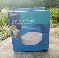 New Carex Raised Toilet Seat Bowie, 20715