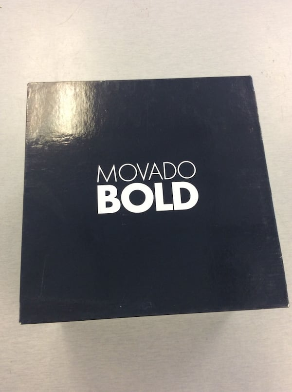 Men's Movado Bold Chronograph Watch - Navy Blue - MINT 4
