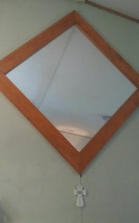 brown wooden framed wall mirror Conroe, 77301