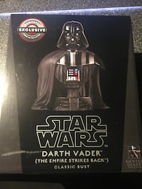 Darth Vader Bust Empire Strikes Back Gentle Giant Excl Star Wars New York, 11354