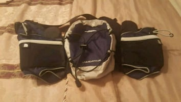 north face waist pouch new