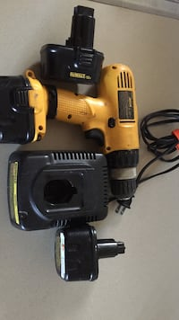 yellow and black DeWalt cordless power drill Ashburn, 20147