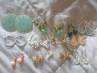 13 Pairs of Earrings for 1 low price