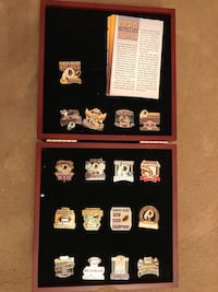 Redskin's Pin Collection  Rockville, 20851
