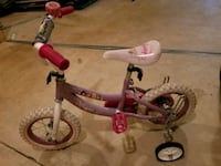 "Girl's 12.5"" bike with training wheels Dumfries, 22026"