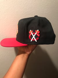 Black and red chicago bulls fitted cap San Antonio, 78229