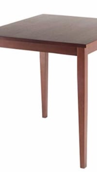 Solid wood bar height table Calgary, T1Y 7E1