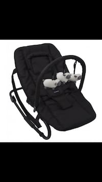 Babyns svart bouncer