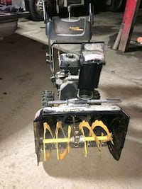 "Mint Condition Poulin Snow Blower 24"" 208cc  2468 km"