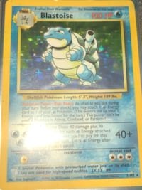 1999 halo rare Blastoise Houston, 77002